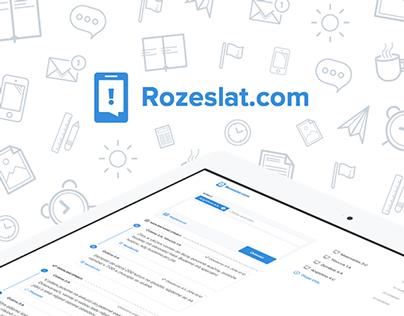 Rozeslat.com - project for teachers