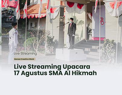 Live Streaming SMA Al Hikmah