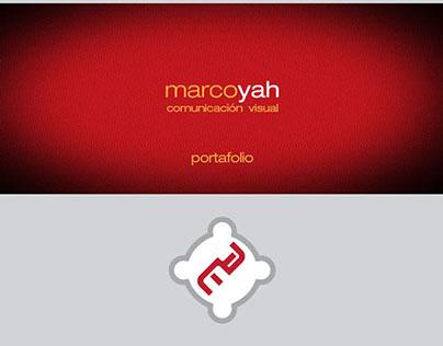 Portafolio de trabajo Marco Yah; 2012-2014