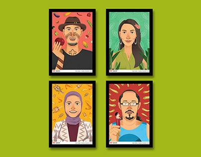 TEDxJakarta 10th: New Endings Speaker Portraits