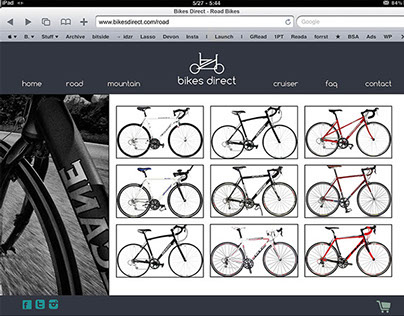 Bikes Direct Website Redesign