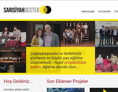 SarıSiyahDestek - İstanbul Erkek Lisesi Bağış Platformu