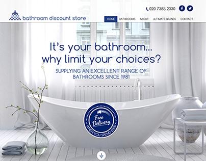 Bathroom Suppliers - Web Design