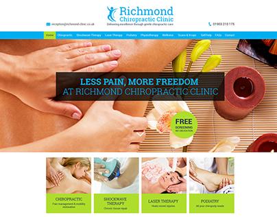 Chiropractor - Web Design