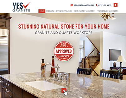 Granite Kitchen Worktops - Web design