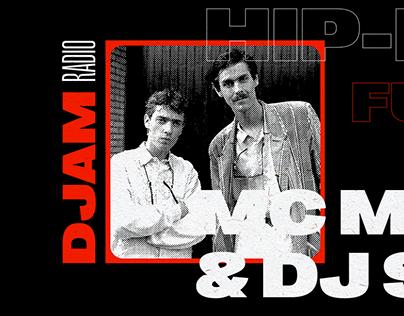 DJAM Radio - Rebrand