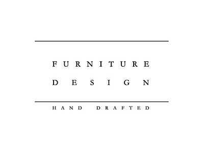 Furniture design - Hand drafted