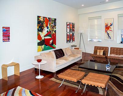 Art Advising, Installation + Interior Design