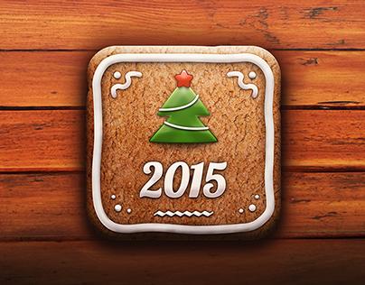 Gingerbread iOS Icon
