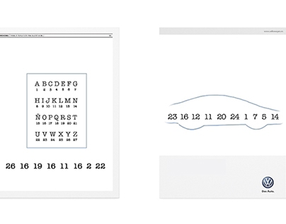 Competition: Yorokobu + Volskwagen Graphic ads