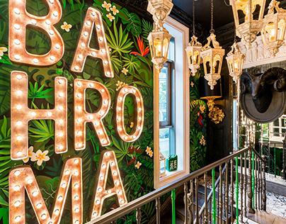 """Ресторанный проект """"BAHROMA"""" - ресторан на Звездной"""