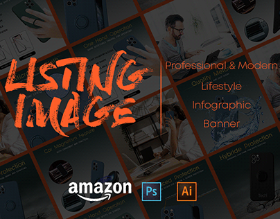 Amazon Product Listing Image Design