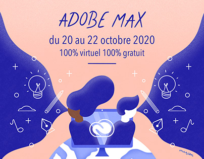 Visuel Adobe MAX