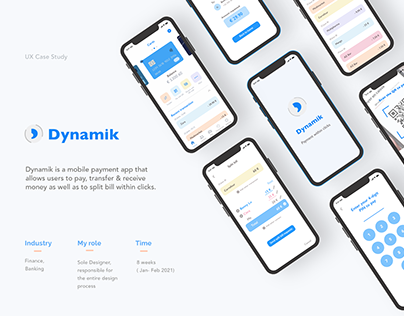UX Case Study for Mobile Payment App