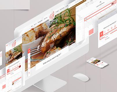 FoodUp | Web design & Branding