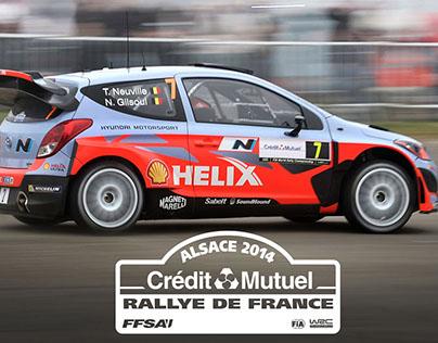 FIA WRC - RALLYE DE FRANCE 2014