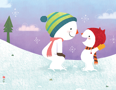 Let's Be Snowpals Together!