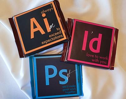 Adobe Suite Chocolate Bars