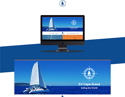 SV Cape Grace webdesign