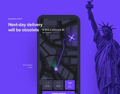 Dronear - Drone Delivery Service