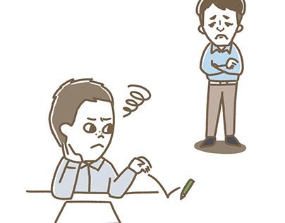 「コグトレ」動画用イラスト
