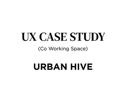 Urbanhive- UX case study