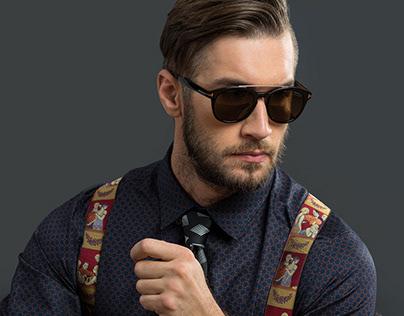 Men comercial fashion and portrait