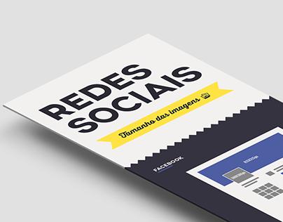 Infográfico - Tamanho das imagens para Redes Sociais
