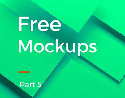 Free Mockups | Part 5
