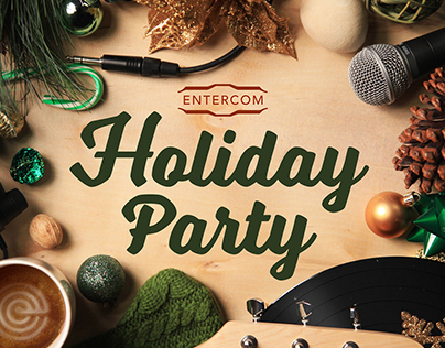 Entercom Holiday Party Invitation