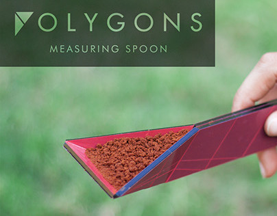 POLYGONS - measuring spoon (winner of Core77 2014)