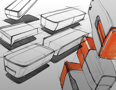 Project sketches and renders