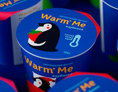 """Kid's yogurt """"Warm Me"""""""