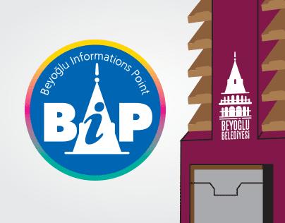 BEYOĞLU Informations Point (Logo+Stand Design)