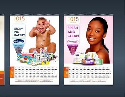 Wemy Industries 2015 calendar designs