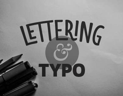 Lettering & typo 2014