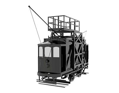 Carro Torre nº49 - Museu do Carro Elétrico - Porto
