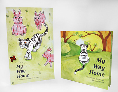 My Way Home: Illustrated Book