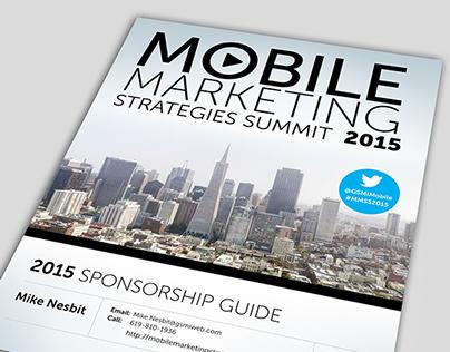 MMSS Mobile Marketing // Sponsor Guide 2015