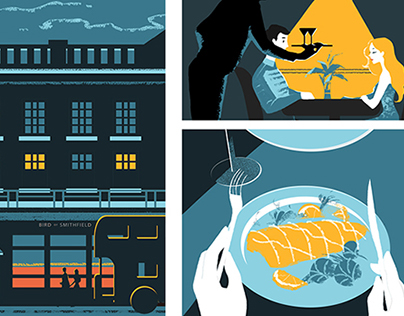 A Date Night - Lifestyle Comic Spread