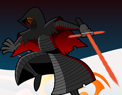 Kylo Ren from Star Wars The Force Awakens