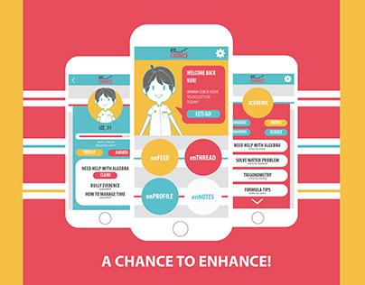 EnChance Poster Design
