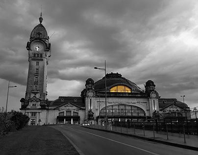 les souvenirs du voyage à Limoges, France - 2016