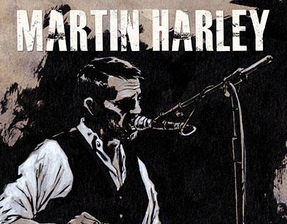 Martin Harley Tour Poster