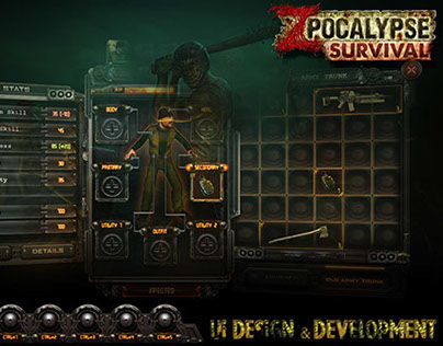 ZPocalypse: Survival | UI Design & Development
