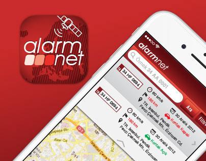 ALARMNET iPhone iOS Consept Design