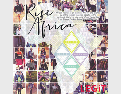 LEGiT Magazine AFRICA section (Summer 2014)