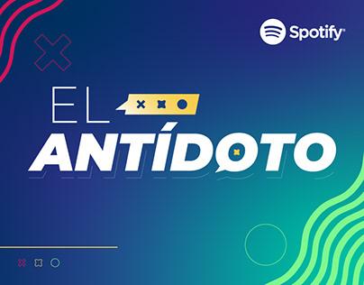 """El Antídoto"" Podcast · Editing & Design"