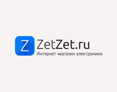 Web Design & UI for e-store zetzet.ru