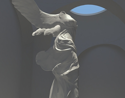 3D model: Winged Victory